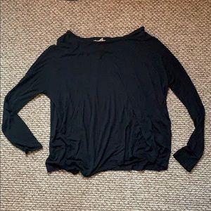 Forever21 dolman style black long sleeve
